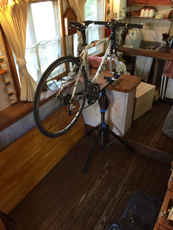 eijicycleプレオープン準備中